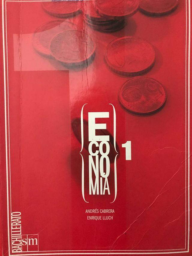 Libro Economía, 1 Bachillerato