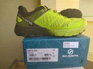 zapatillas scarpa Spin ultra