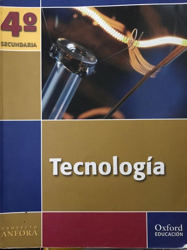 Libro Tecnología 4 ESO