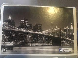 Foto mural papel pintado 3D Nueva York