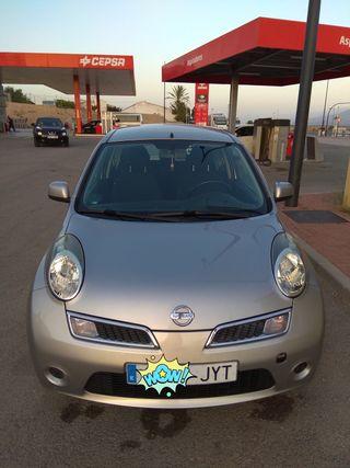 Nissan Micra gasolina y GLP. Modelo 2010