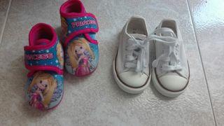 Zapatillas lona 23