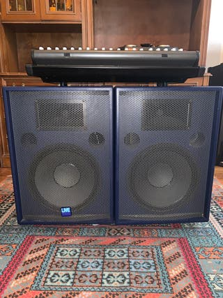 Equipo de sonido para musicos