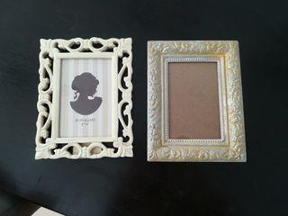 2 marcos de foto 10x15 cm