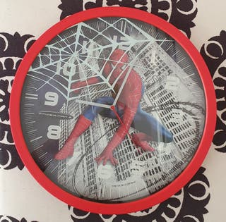 Reloj de Pared de Spiderman