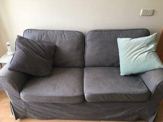 sofá Ektorp ikea gris