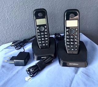 Telefono Inalambrico Motorola Duo,