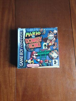 Mario va Donkey Kong GBAdvance como nuevo colecció