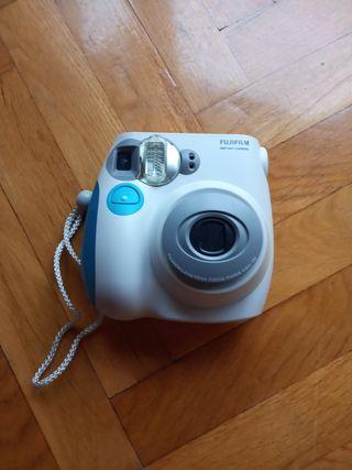 Cámara Polaroid Fujifilm mini 7s + objetivo