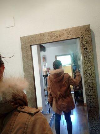 chaqueta vaquera marrón