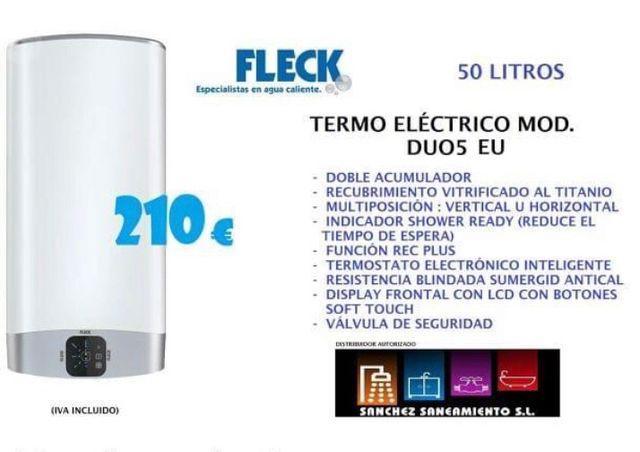 Termo eléctrico Fleck Duo 5 50 litros