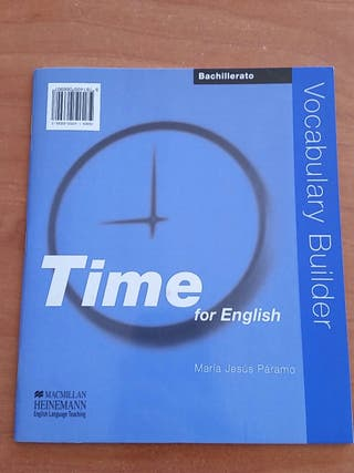 TIME FOR ENGLISH bachillerato