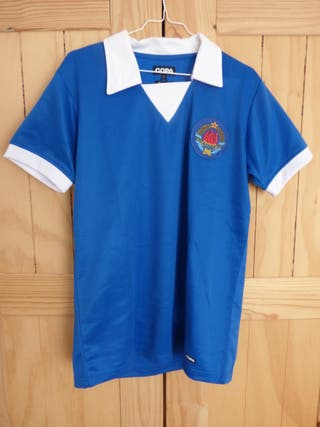Camiseta futbol retro Copa Yugoslavia 80s talla L