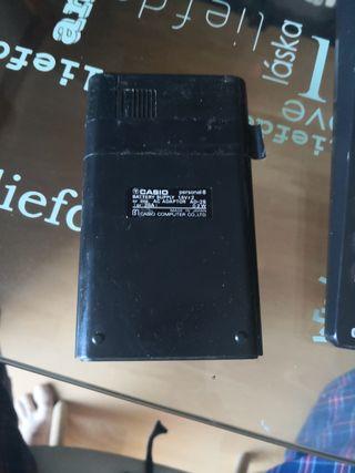 calculadoras vintage casio