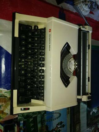 maquina escribir olympiette deluxe