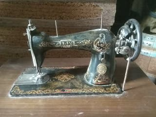 máquina de coser alfa, antigua