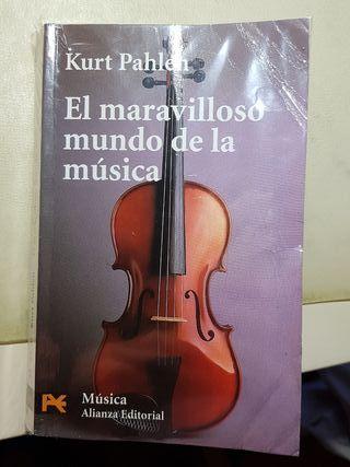libro el maravilloso mundo de la musica
