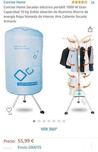 Secadora de ropa de aire