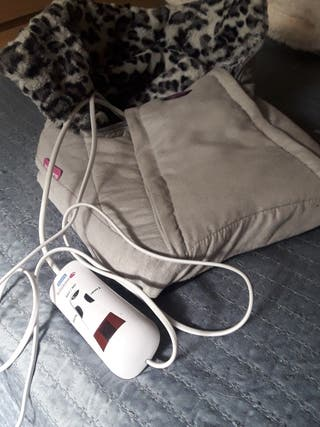 calentador de pies eléctrico.