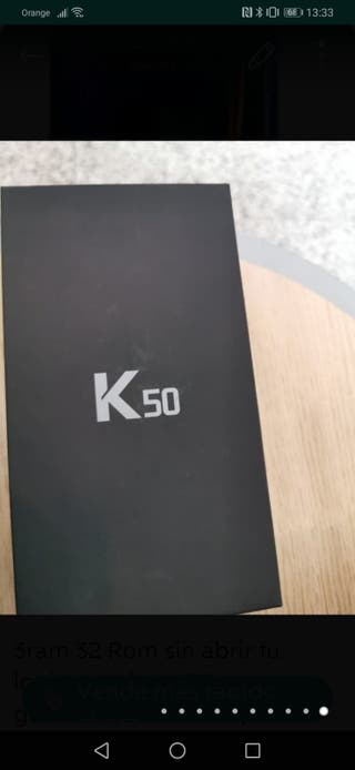 Movil LG K50