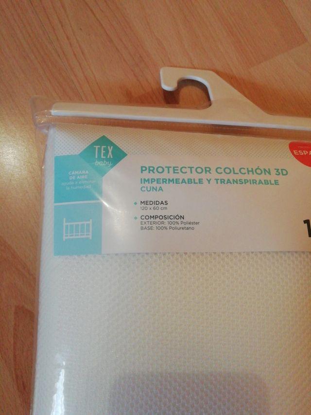 Protector colchón 120x60