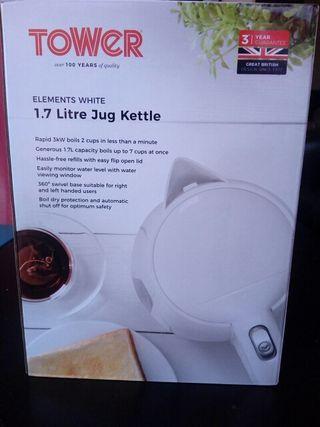tower 1.7 litre jug kettle