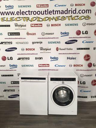 Oferta lote chollo!! lavadora + lavavajillas