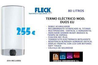 Termo eléctrico Fleck Duo 5 80 litros
