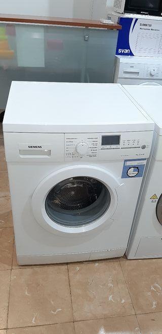 Lavadora Siemens 7kg A+ 1400rpm con garantía.