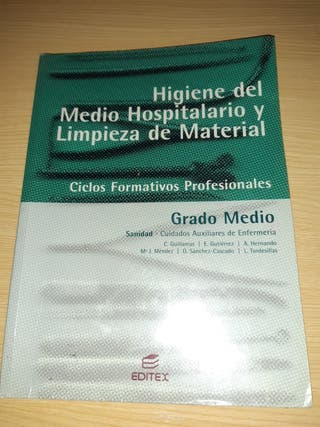 Libros TCAE, Auxiliar enfermeria Grado medio