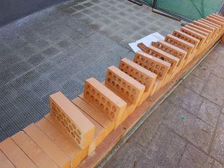 110 ladrillos caravista rojo hidrofu 24 x 12 x 5