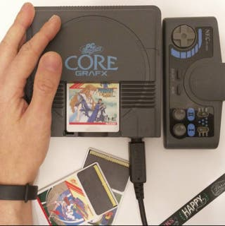 NEC Coregrafx RGB 32GB + Sony Trinitron