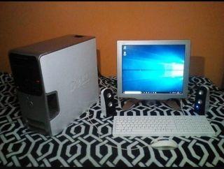 ordenador Dell con Windows 10 pro de 64 bits