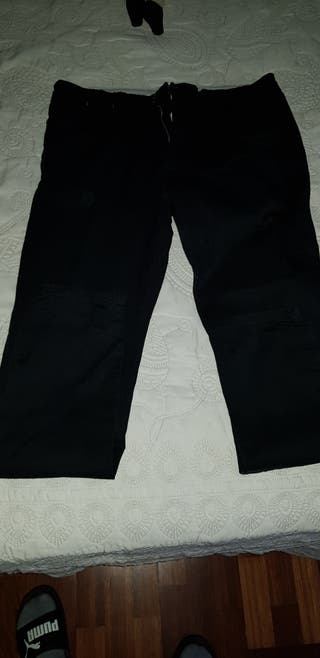 Pantalones negros de vestir