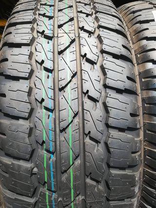 Neumáticos Todoterreno, varios modelos y marcas