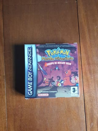 Pokémon mundo misterioso Eq. resc. rojo GBadvance