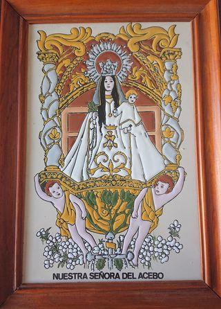 cuadro Nuestra Señora del Acebo