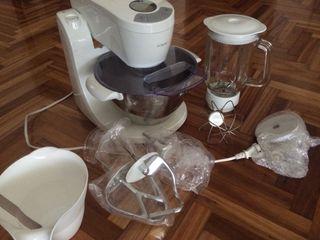 Robot de cocina, amasadora, licuadora, batidora