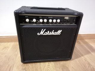 Amplificador bajo Marshall MB15