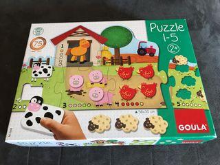 NUEVO Puzzle Goula con piezas de madera