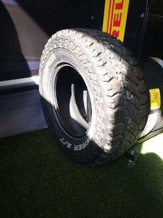 neumáticos jeep Rubicón. 285.70.17