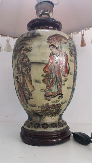 Lámpara Sobremesa Cerámica China