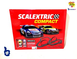 SCALEXTRIC COMPACT LOOPING RAIDERS NUEVO