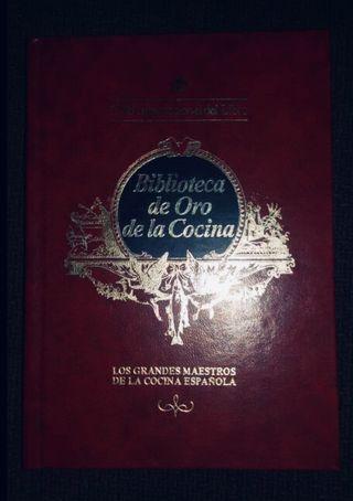 5 libros biblioteca oro cocina