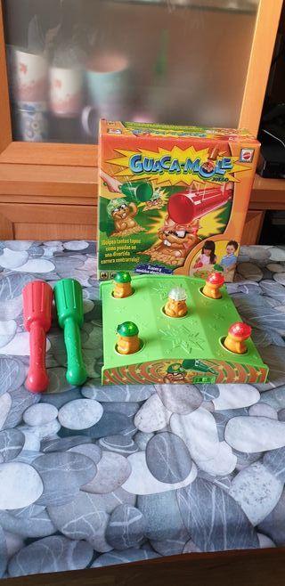 Juego Guaca-Mole