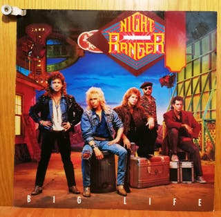 NIGHT RANGER - BIG LIFE LP