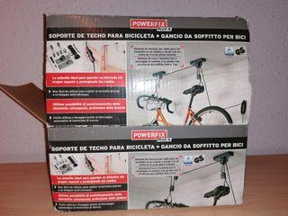 Soporte de techo para bicicletas Powerfix