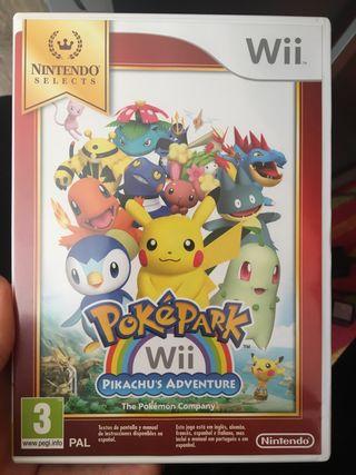 Pokepark pikachu's adventure wii