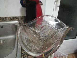 centro de mesa cristal labrado
