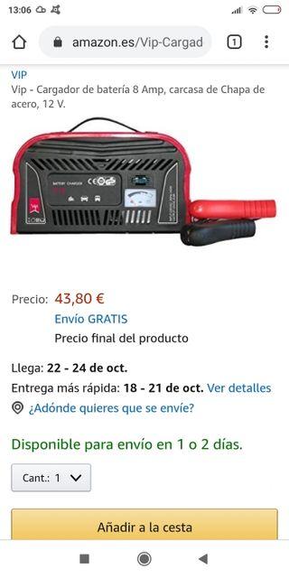 cargador batería 12 V 8A